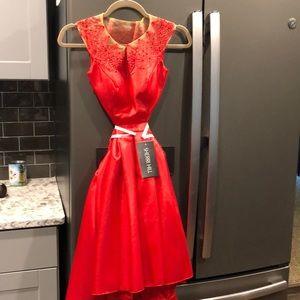 Brand new Sherri Hill red prom dress size 00